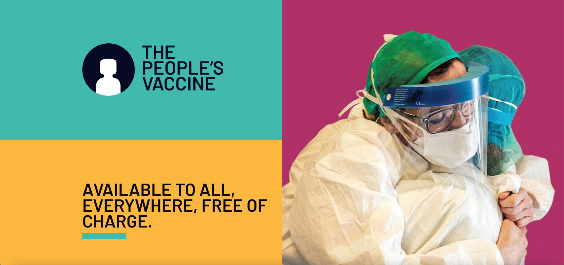 Oxfam - a member of People's Vaccine Alliance
