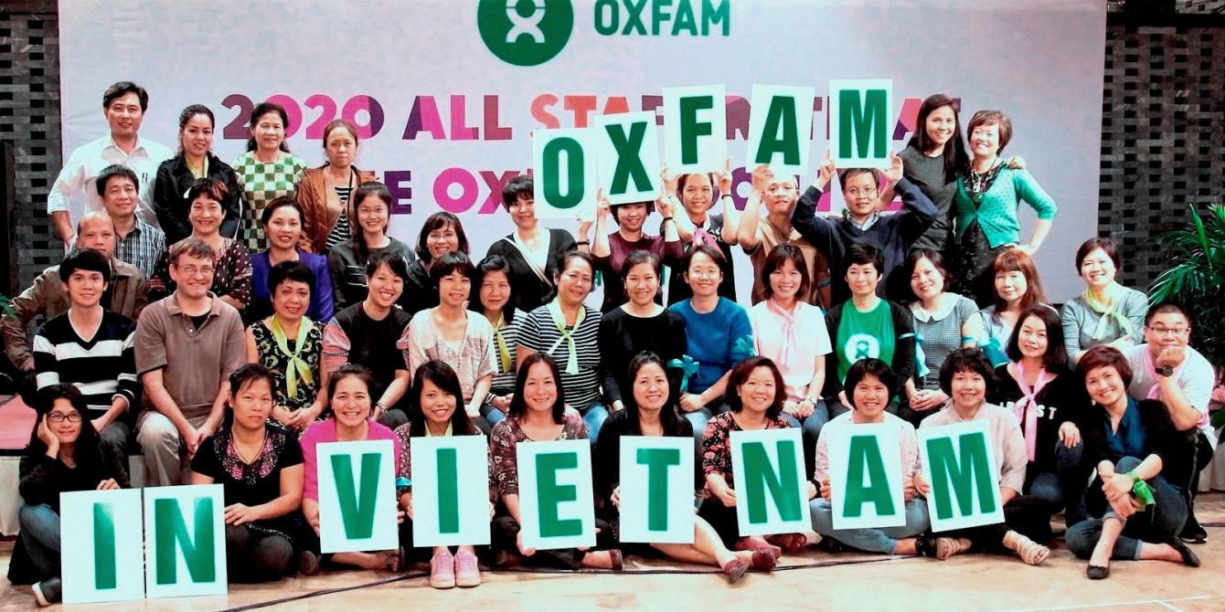 Oxfam in Vietnam staff photo. Credit: Oxfam Vietnam
