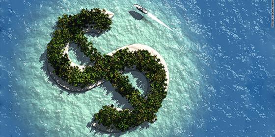 Tax havens. Credit: CNN Money