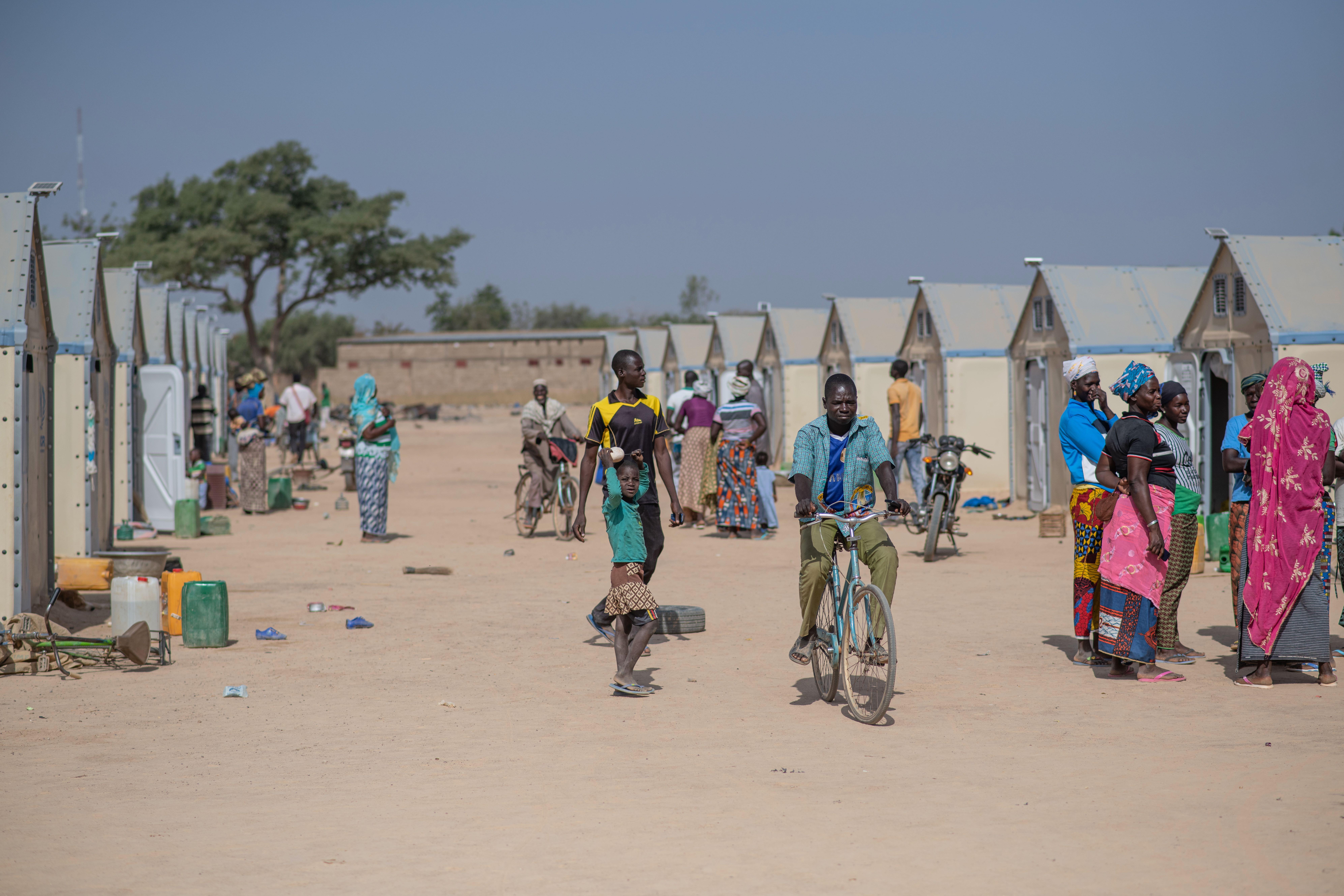 Site de personnes déplacées de Pissila.
