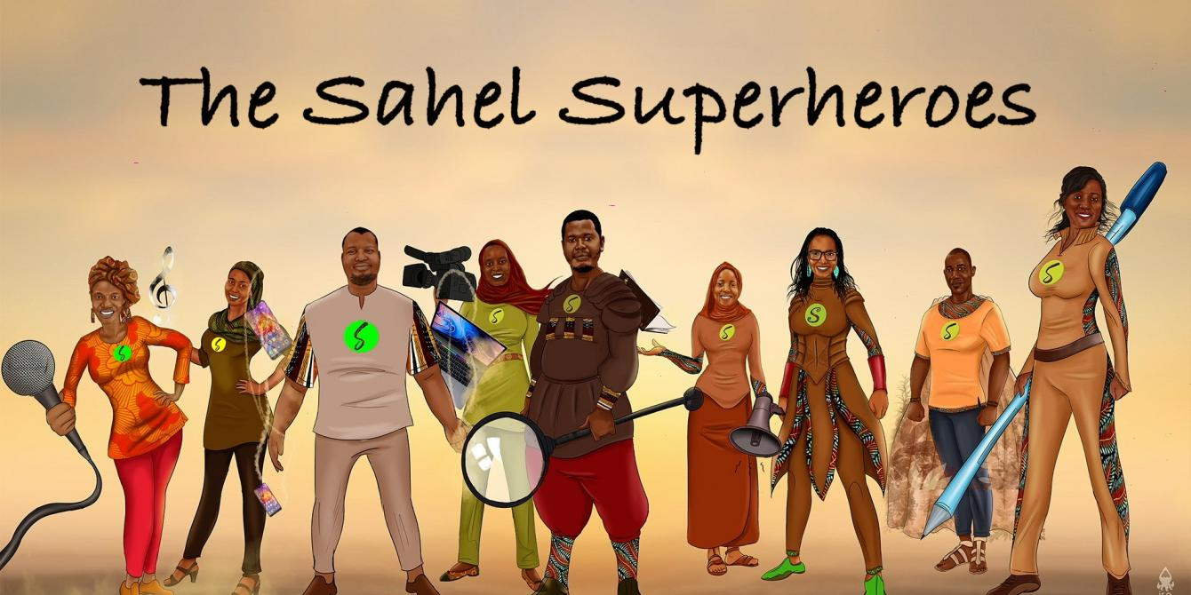 The Sahel superheroes: these African activists who fight against inequalities on a daily-basis.