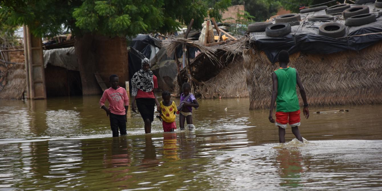 516,000 personnes sont sinistrées suite aux inondations historiques au Niger.