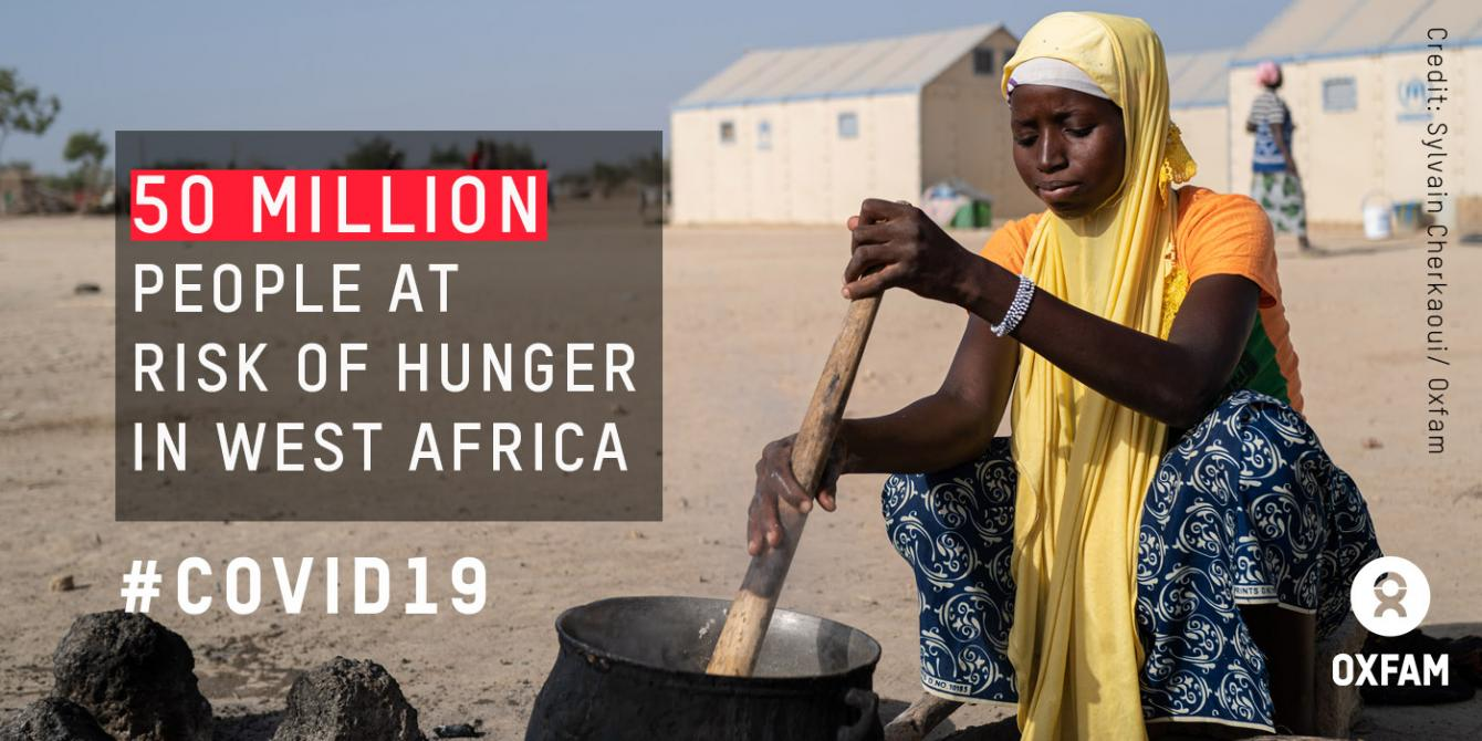 COVID-19: 50 million people threatened by hunger in West Africa