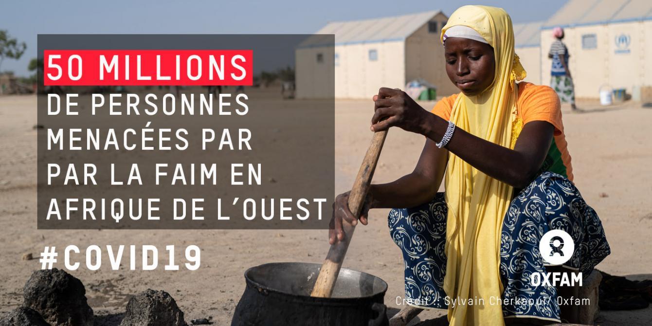 COVID-19 : 50 millions de personnes sont menacées par la faim en Afrique de l'Ouest.