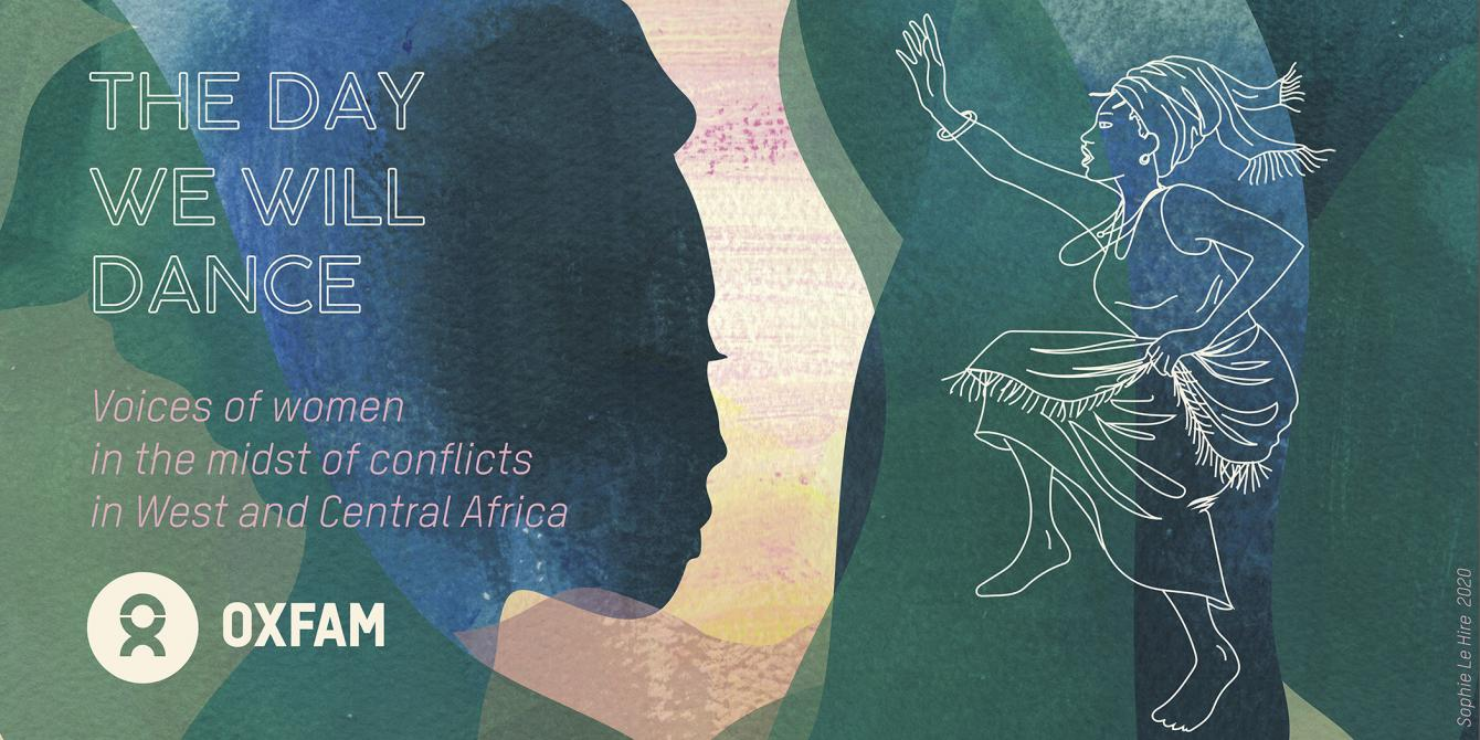 The Day We Will Dance: voices of women in the midst of conflicts in West and Central Africa. Credit: Sophie Le Hire