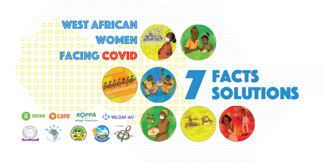 West African women facing the Covid