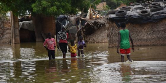 516,000 personnes sont sinistrées suite aux inondations historiques au Niger