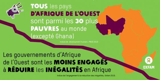 Tous les pays d'Afrique de l'Ouest sont parmi les 30 plus pauvres au monde (excepté Ghana)